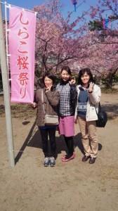 しらこ桜祭り①