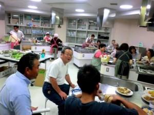 かき揚げ料理教室