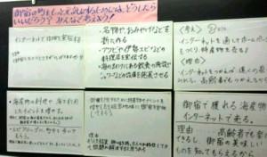 御宿中学校2A社会