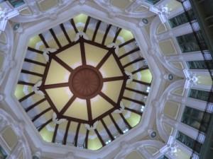 ドームの内部