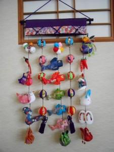 端午の吊るし壁飾り